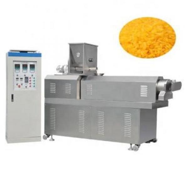 Crispy Corn Puff Snack Twin Screw Extruder Machine / Puffed Snack Production Line, Puffed Snacks
