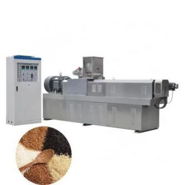 Puffed Rice Wheat Flour Corn Puff Food Snack Extruder Machine