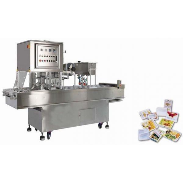 Automatic Sea Food Fish Shrimp Vacuum Skin Packaging Machine Production Line
